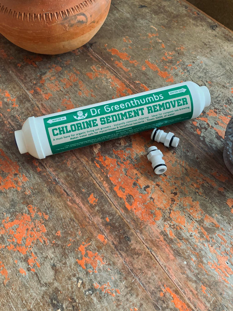 Chlorine and Sediment Remover