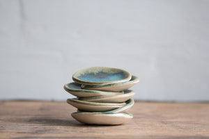 Tiny Jewellery Dish in Bronze Green