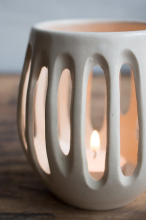 Luminaire in Warm White: Candle Holder