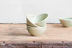Tiny Bowl in Mint Green: Handmade Pottery