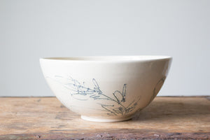 Botanical Serving Bowl: Five