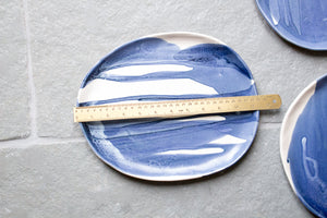 Blue and White Serving Tray: One