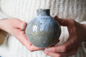 Small Vase in Rustic Blue