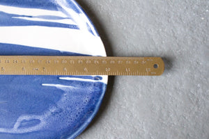 Blue and White Serving Tray: Two