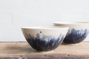 Medium Watercolour Serving Bowl