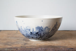 (Slightly Flawed) Medium Watercolour Serving Bowl