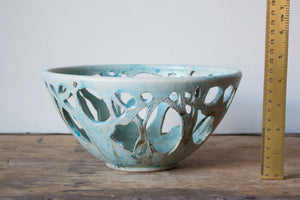 Small Raku Tree Bowl: Three