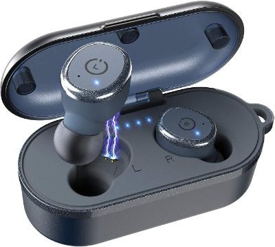 10 Bluetooth 5.0 Wireless Earbuds with Wireless Charging Case-Electronic-Weekly Top Deal