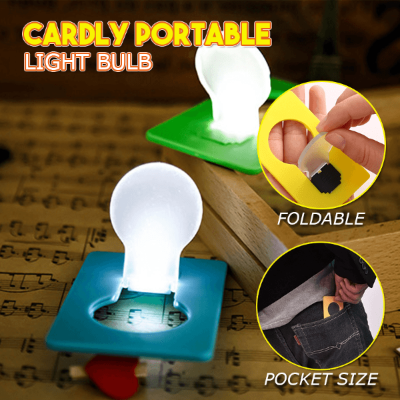 10PCS / 10 x Mini led Credit Card/Portable/Card Pocket Light Bulb lamp-Gift & Accessories-Weekly Top Deal