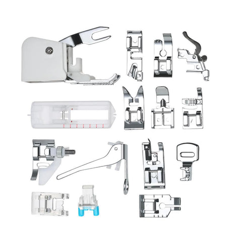 15pcs Professional Sewing Machine Presser Walking Feet Kit-Home Collection-Weekly Top Deal