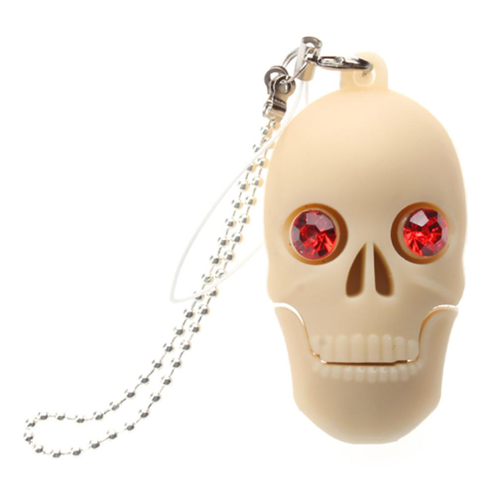 16GB usb flash drive usb disk USB 2.0 Plastic Skull Compact Size-Electronic-Weekly Top Deal