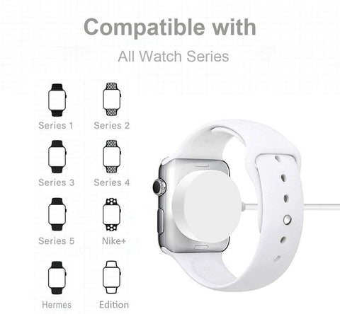 2-in-1 Lightning Cable with Wireless Watch Pad-Electronic-Weekly Top Deal