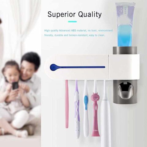 2-IN-1 ULTRAVIOLET TOOTHBRUSH DISINFECTOR-Home Collection-Weekly Top Deal