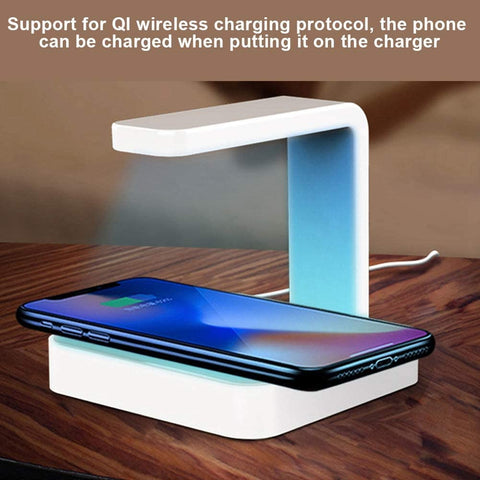 2-in-1 Wireless Charger + UV Sanitizer-Beauty & Health-Weekly Top Deal
