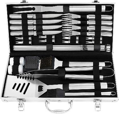 29 in 1 Grill Lover's Personalized Barbeque Set-Gift & Accessories-Weekly Top Deal