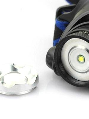 3 Headlamps Headlight LED Cree® XM-L T6 1 Emitters >200 lm 3 Mode with Batteries and Charger Zoomable Adjustable Focus Multifunction-Outdoor Gear-Weekly Top Deal