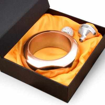 3.5OZ BANGLE BRACELET HIP FLASK-Gift & Accessories-Weekly Top Deal