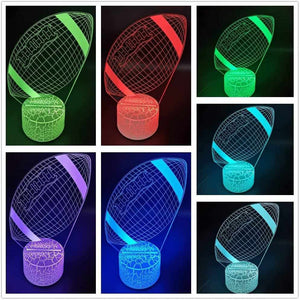 3D LED Sport Night Lights-Gift & Accessories-Weekly Top Deal