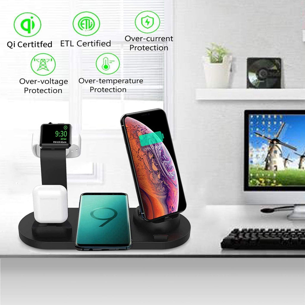 4-in-1 Smart Charging Station-Electronic-Weekly Top Deal