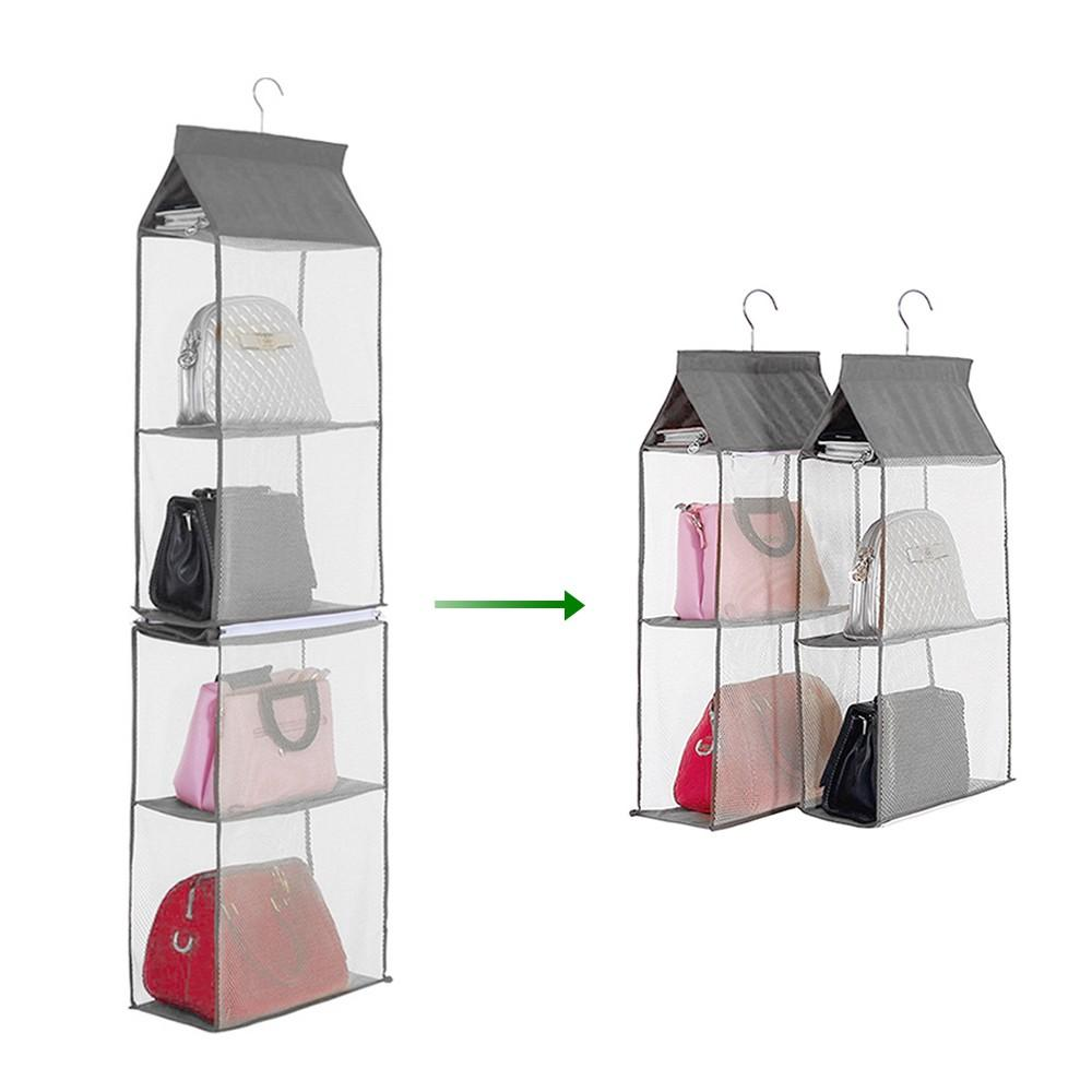 4-Tiers Non-woven Detachable Closet Bags Organizer-Home Collection-Weekly Top Deal
