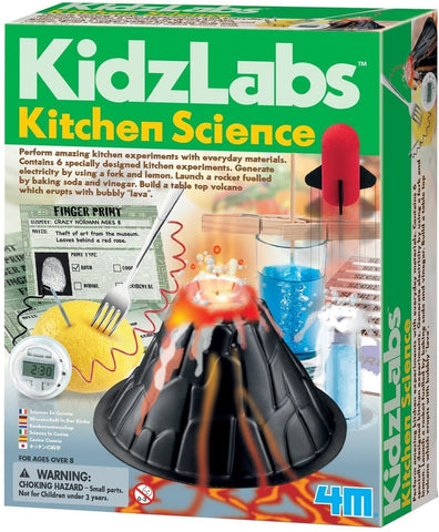 4M Kitchen Science Kit - DIY Chemistry Experiment Lab STEM Toys Gift-Kids, Toys & Baby-Weekly Top Deal