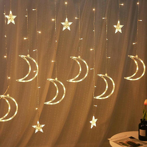 8 Function Star Light String Outdoor Waterproof Decorative Curtain-Home Collection-Weekly Top Deal