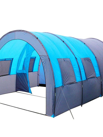 8 person Tunnel Tent Family Tent Outdoor Light Weighted Poled Tunnel Windproof-Outdoor Gear-Weekly Top Deal