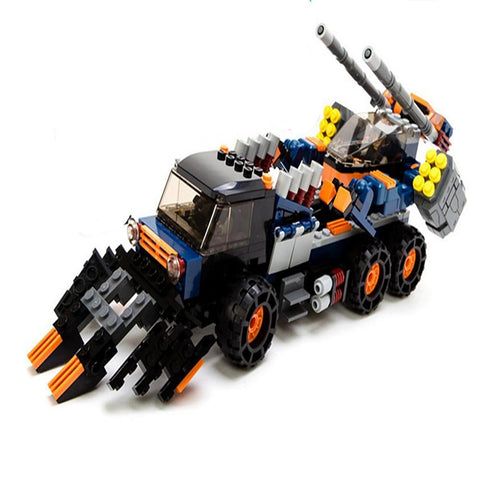 Action Figure Building Blocks Construction Set Toys Tank Machine Robot Compatible Educational Toy-Kids, Toys & Baby-Weekly Top Deal