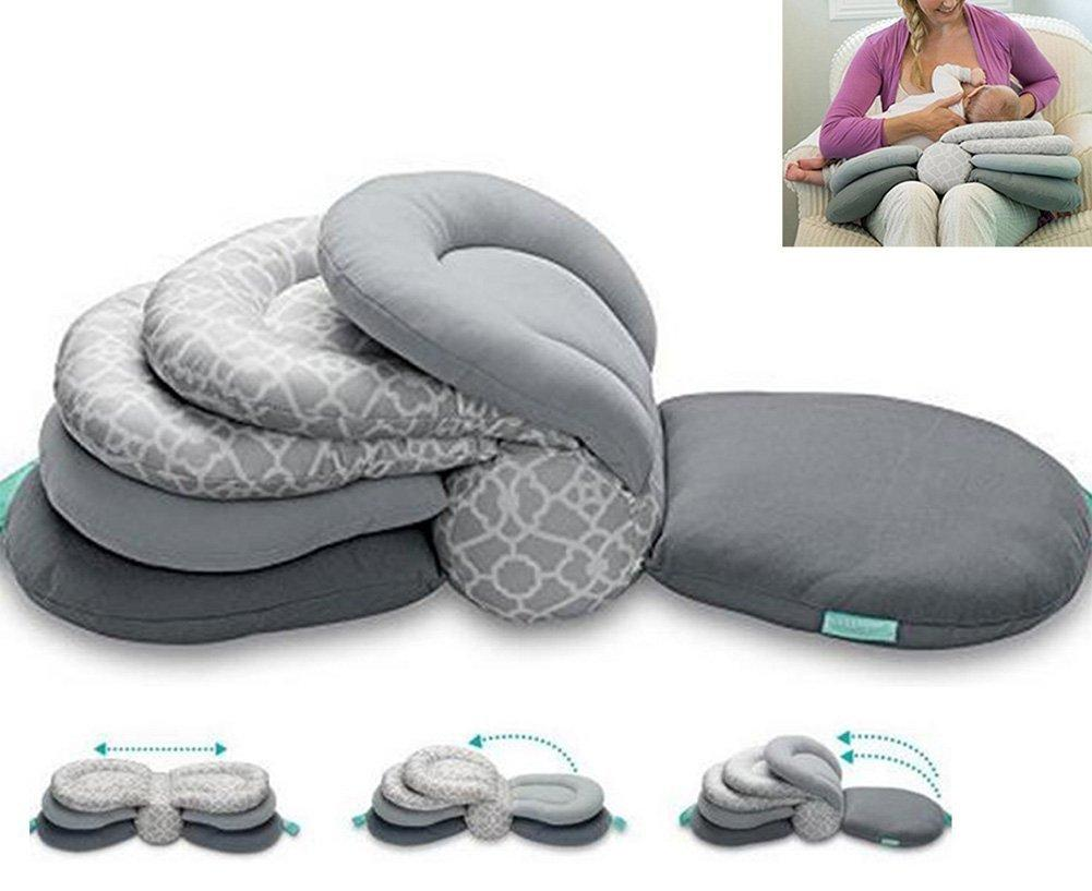 Adjustable Breastfeeding Baby Layered Pillow-Kids, Toys & Baby-Weekly Top Deal