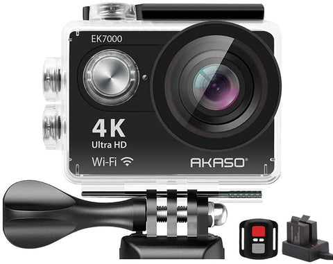 AKASO EK7000 4K WiFi Sports Action Camera Ultra HD Waterproof DV Camcorder-Electronic-Weekly Top Deal