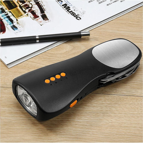 Alarm Flashlight Tools & Accessories Portable FM Radio Alarm Emergency Mobile Power-Outdoor Gear-Weekly Top Deal