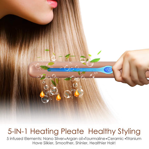 Anti-Static Ceramic Straightener-Beauty & Heath-Weekly Top Deal