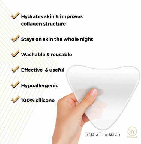 Anti-Wrinkle Silicone Chest Pad-Beauty & Health-Weekly Top Deal