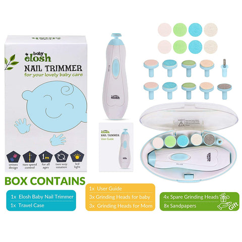 Baby Nail File. Nail Clipper Electric and Nail Trimmer-Kids, Toys & Baby-Weekly Top Deal