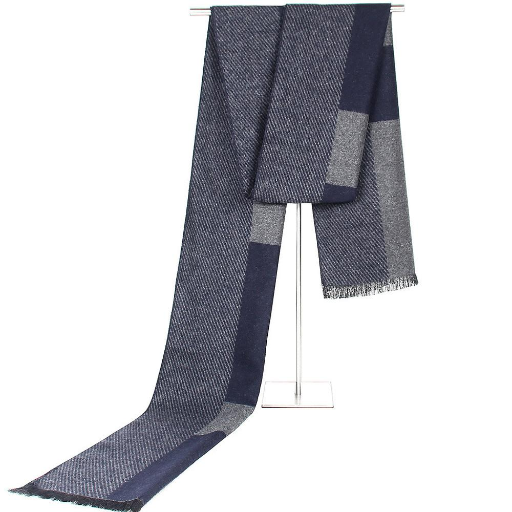 Basic Rectangle Scarf - Striped-Men-Weekly Top Deal