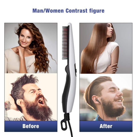 Beard & Hair Electrical Straightening Comb-Gift & Accessories-Weekly Top Deal