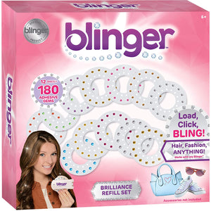 Blinger Jewel Refill Set - Includes 180 Gems in Multiple Shapes and Colors-Kids, Toys & Baby-Weekly Top Deal