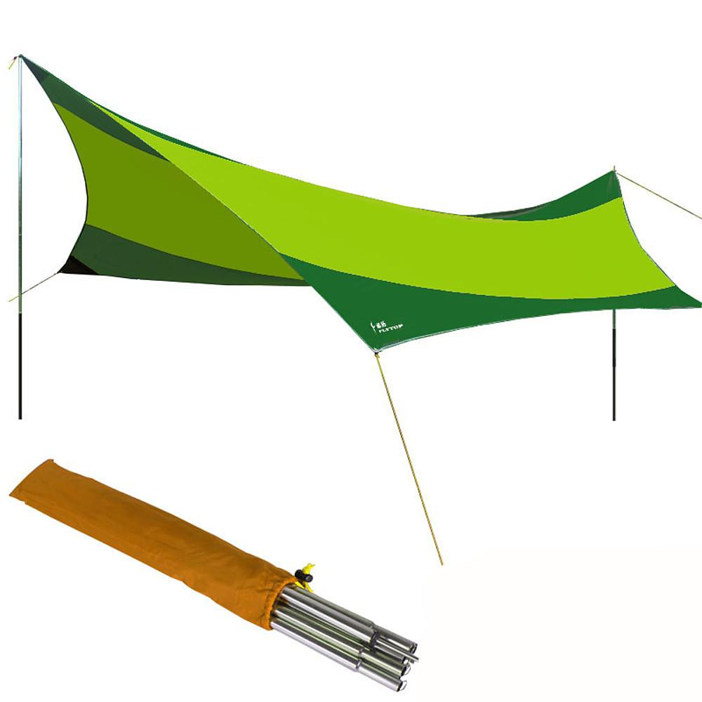 Camping Shelter Outdoor Windproof UV Resistant Poled Camping Tent-Outdoor Gear-Weekly Top Deal