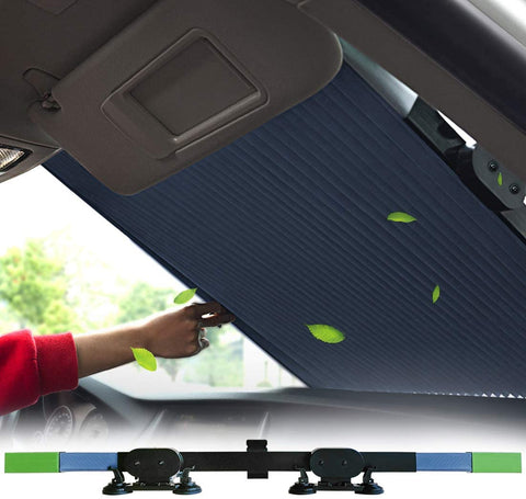 Car Windshield Retractable Sun Shade,Car Sun Shade to Keep Your Vehicle Cool Prevent UV Sun-Weekly Top Deal