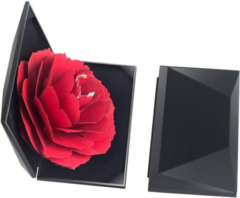 Creative Rose Engagement Ring Box-Gift & Accessories-Weekly Top Deal