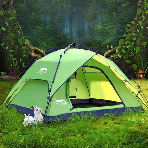 DesertFox® 3 person Double Layered Automatic Dome Camping Tent-Outdoor Gear-Weekly Top Deal