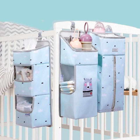 DIAPER BAGS CRIB BED HANGING FOR PORTABLE BABY CARE-Weekly Top Deal
