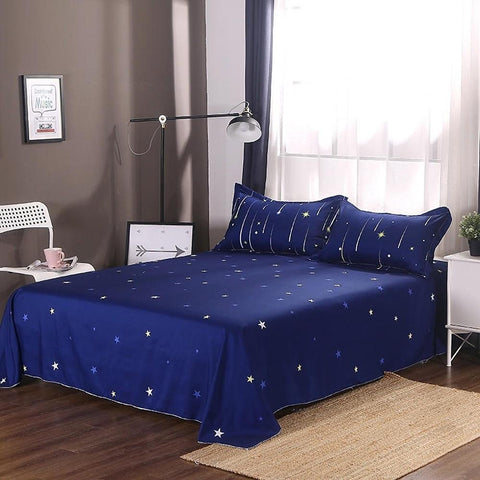 Duvet Cover Sets Geometric Polyster Printed 4 PieceBedding Sets-Home Collection-Weekly Top Deal