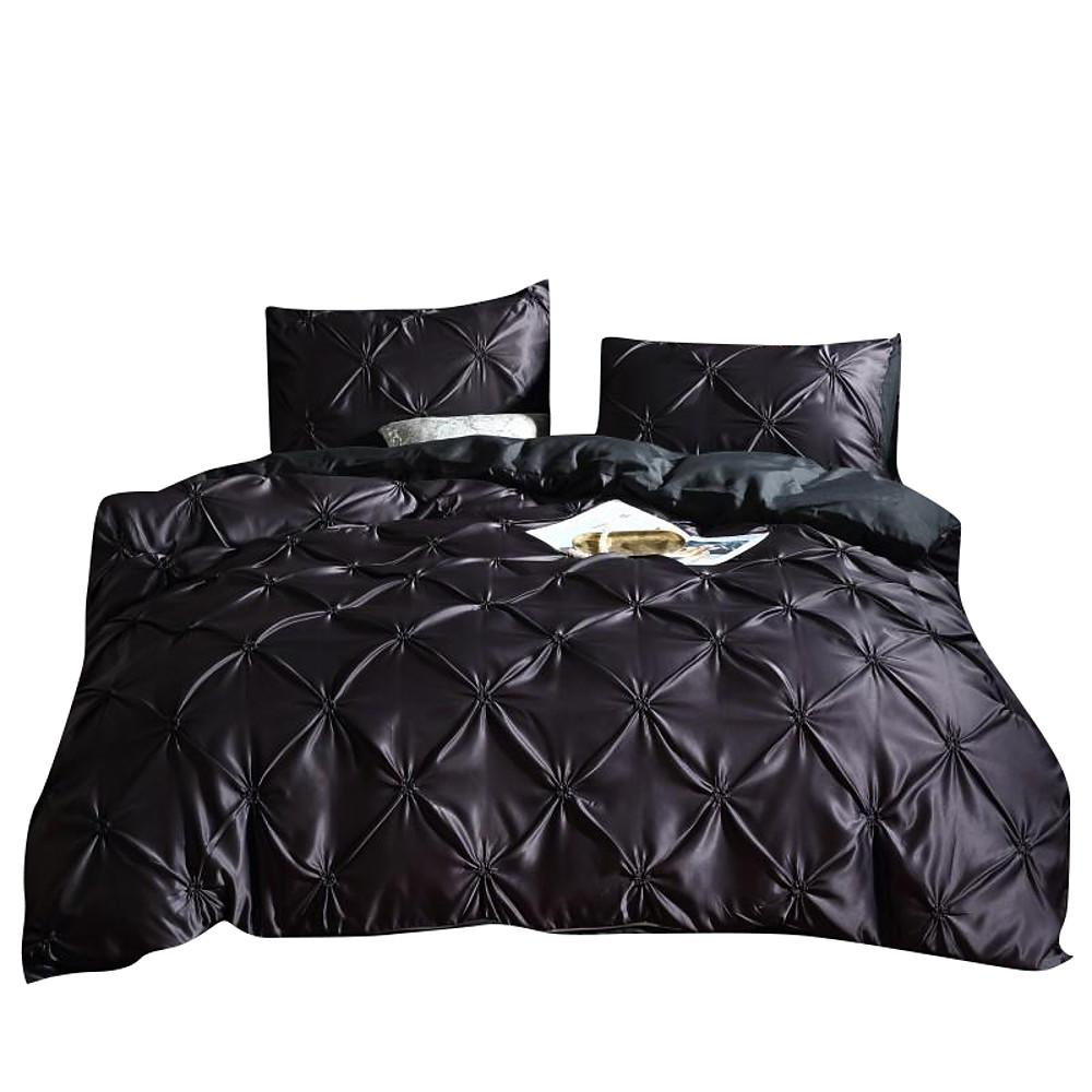 Duvet Cover Sets Solid Colored / Luxury / Contemporary 3 PieceBedding Sets-Home Collection-Weekly Top Deal