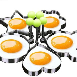 Egg Mold Ring Stainless Steel Egg Pancake (5pcs)-Home Collection-Weekly Top Deal