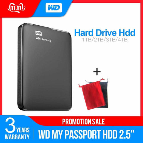 EXTERNAL HARD DRIVE PORTABLE 1TB 2TB 2.5INCH USB 3.0 FOR PC LAPTOP-Electronic-Weekly Top Deal