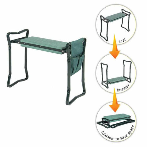 GARDEN KNEELING BENCH-Home Collection-Weekly Top Deal