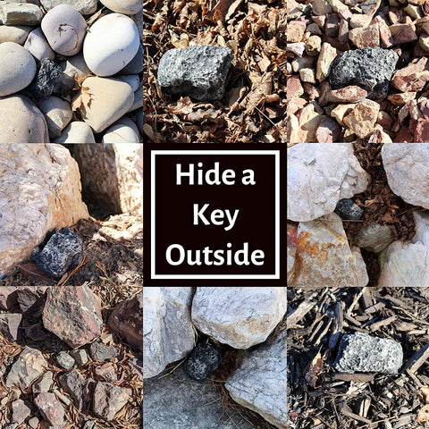 GARDEN STONE HIDDEN KEY SAFETY BOX-Home Collection-Weekly Top Deal