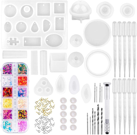 Handmade Crystal Glue Mold Set (149 Pieces)-Gift & Accessories-Weekly Top Deal