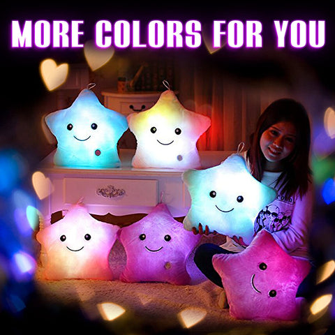 HAPPY STAR LIGHT UP PILLOWS-Gift & Accessories-Weekly Top Deal